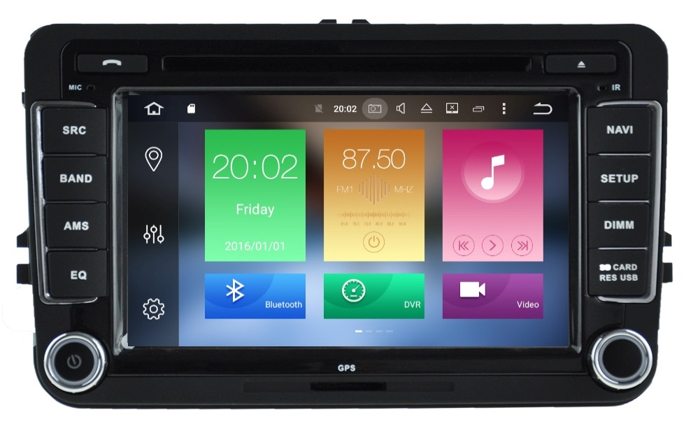 LM J004 GPS OEM VW 7inch ANDROID8/8core/DVD/CD/MP3