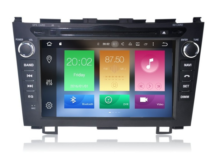 LM J009 GPS OEM CRV 2007>2010 ANDROID8/8core/GPS/DVD