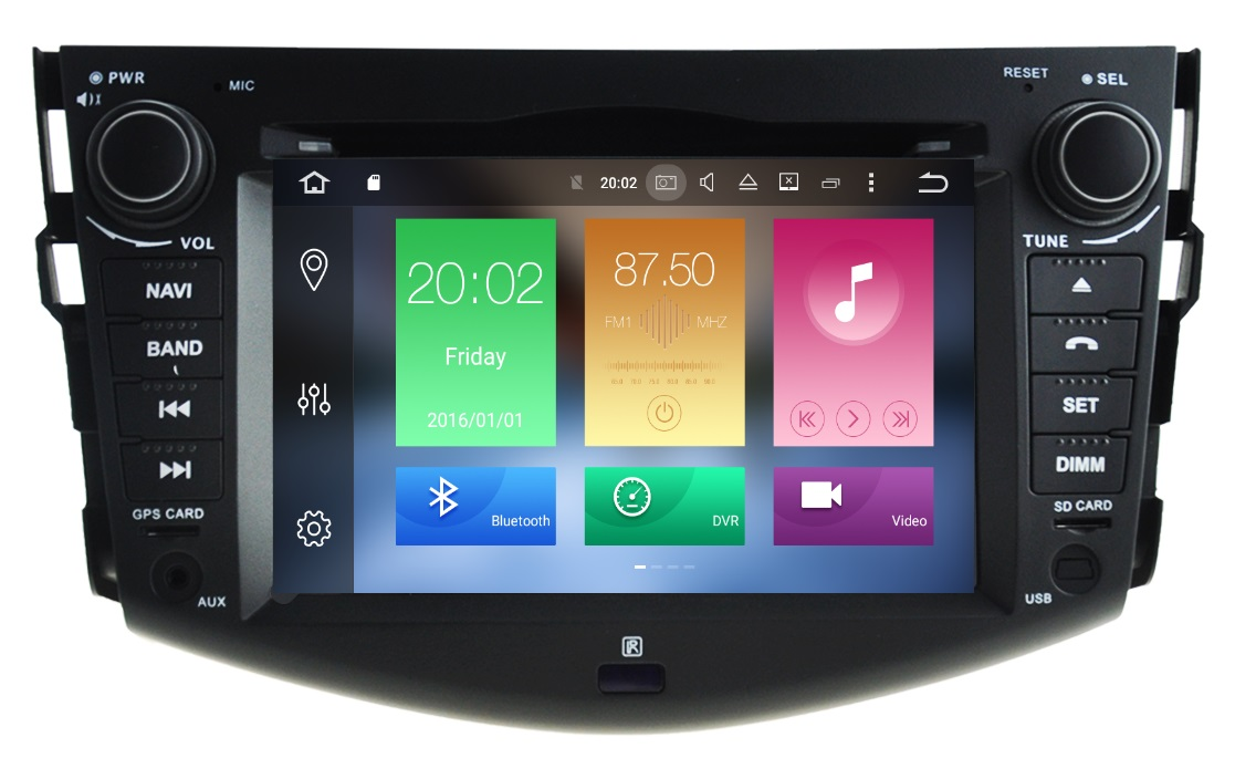 LM J018 GPS OEM RAV4 2007-2012 ANDROID8 /8 core/GPS