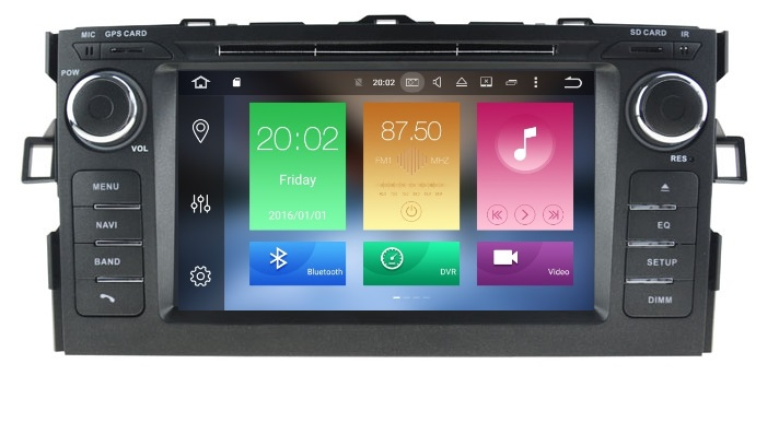 LM J028 GPS OEM AURIS 2007>2012 ANDROID8/8core/GPS