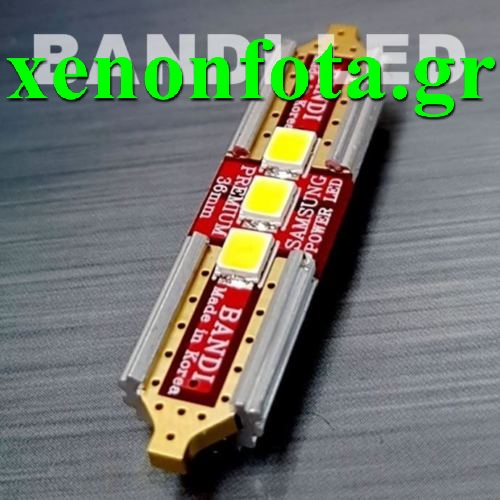 Led 36MM 3 SMD Ψυχρό Λευκό Samsung Made in Korea Κωδικός XF516